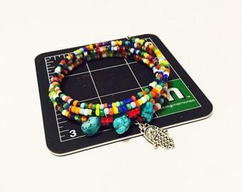 Hamsa Memory Bracelet