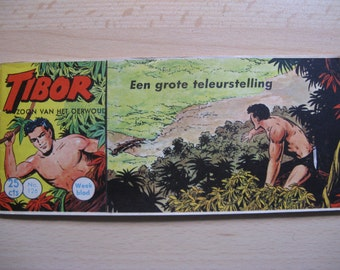 An old Lilliput comic book: Tibor son of the jungle, a big disappointment ... 1961