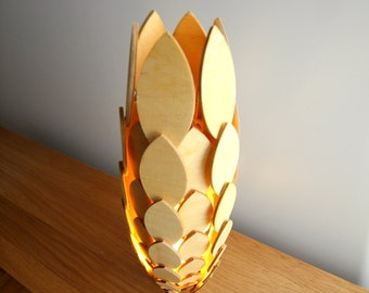 Items Similar To Egg Lamp Quot Ca Va Faire Mal Quot On Etsy