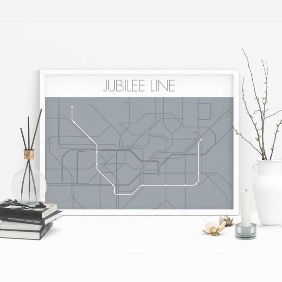Underground Jubilee Line -  Of Passengers