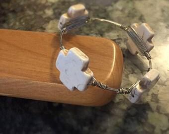 Wire Bangle Bracelets