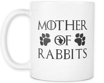 Mother Of Rabbits White Mug