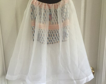 SALE New with tag Organza skirt