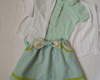 Skirt baby size elastiqueeau 12 months