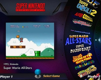 64gb HyperSpin Portable Flash Drive Nintendo Sega Atari