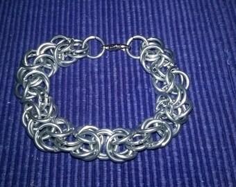 Byzantine Weave Chainmail Bracelet