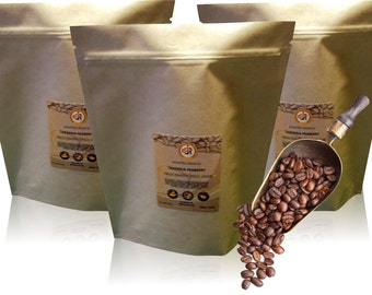 TANZANIAN Peaberry Medium Roast-Fresh Roast Coffee | Whole Bean or Ground | 12 or 32 oz | 10% goes to Charity(Intl Woman's Coffee Alliance)