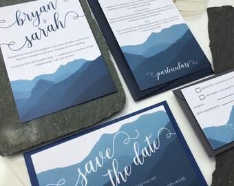 Langdale Wedding Invitation Set