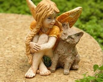 Miniature Dollhouse FAIRY GARDEN ~ Petite Fairy - Chloe ~ NEW