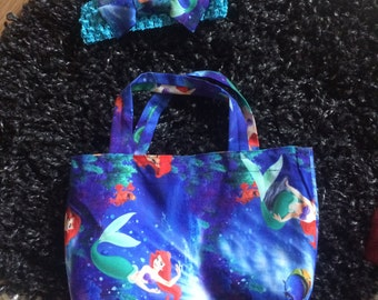Toddler tote and bow