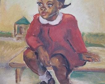 African American Vintage Art