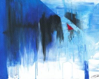 """Cornerstone by Jakob Straume Giclée Print 18""""x 24"""""""
