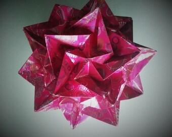 Origami Kusudama paradigm