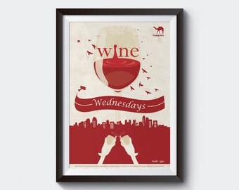 Wine Wednesday Poster
