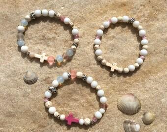 Lot Bohemian bracelets trio