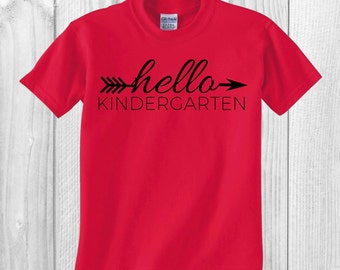 First Day of School Shirt//Hello Grade//Customizeable