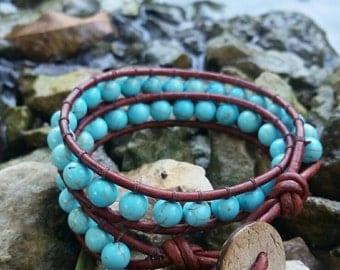 Small Two Wrap Bracelet