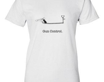 Gun Control Tee - Womens