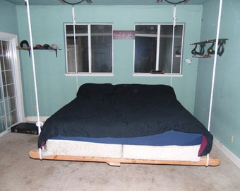king size swinging bed