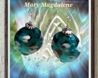 Mary Magdalene earrings