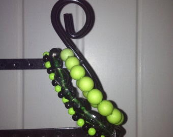 set bracelets (dark) Green