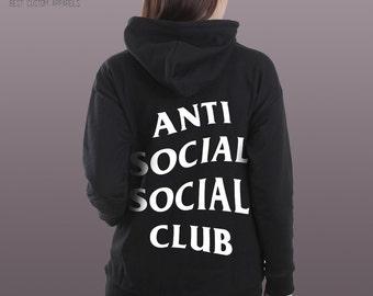 Anti Social Social Club - Best hoodie - Cool hoodie - Unisex hoodie