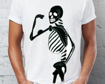 Skeleton T-shirt for Man