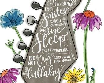 Golden Slumbers Print
