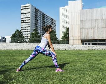 Leggings fitness en SPANDEX brésilien