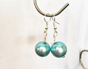 Turquoise Bubble Earrings