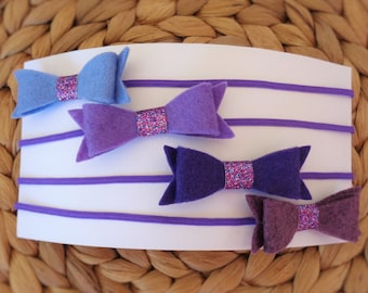 Headband Set - Purples