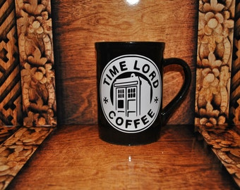Time Lord coffee cup