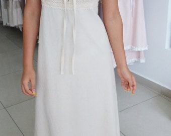 Maxi cotton dress