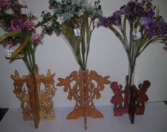 Sweetheart Bud Vases