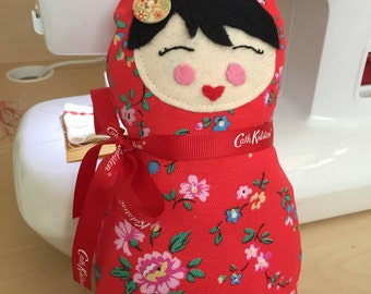 Cath Kidston Fabric Soft Russian Doll