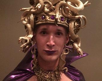 Medusa Snake Head Dress