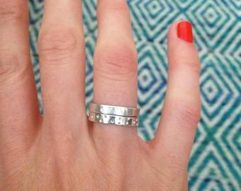 Sterling Silver stacker ring set