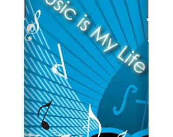 Music is life Phone case