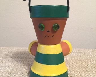 Clay Pot People - Lightening Bug
