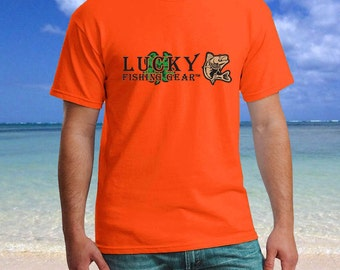 Lucky Fishing Gear - Logo Graphic Tee