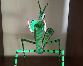 Green Mantis Alebrije