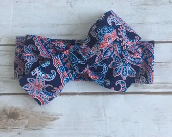 Paisley Bluez Headwrap