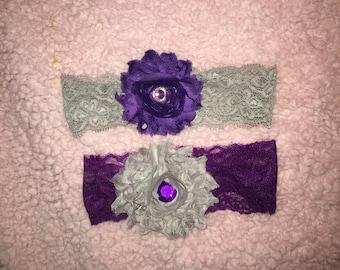Infant Lace Headband set