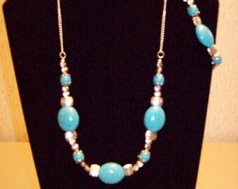 3 pc. Howlite Necklace Set