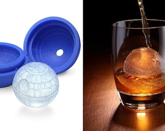 Death Star Mold STAR WARS Ice Tray Jelly Fondant Chocolate mold