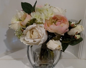 Wedding Centerpiece, Mother's Day Gift, Teacher Gift, Bridesmaid Gift, Flower Arrangement