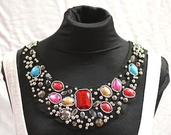 Bejewelled Fashion Collar - JR09265
