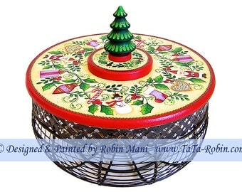 272 All Around the Tree Decorative Painting Pattern