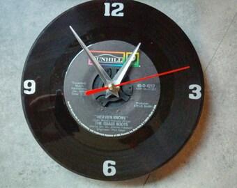 Grassroots Vinyl Record Clock