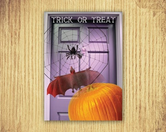 Trick or Treat ~ Halloween Card ~ 5 x 7 ~ Digital Download Only
